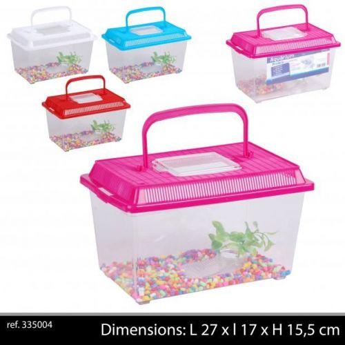 Aquarium Plastic Fish Tank 27 x17 x 15,5 Cm