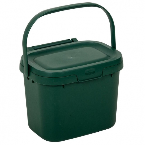 Kitchen Compost Caddy 4.5L Food Waste Bin Green