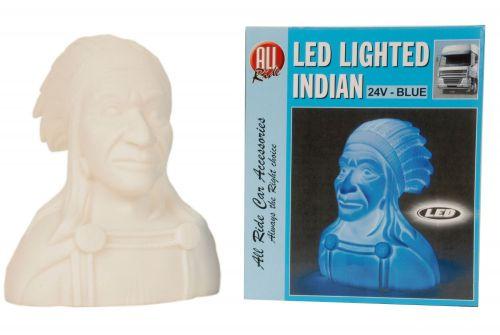 24V Indian Blue LED Light Car Truck Lorry Dashboard Decorative Lighting