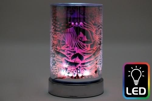 16.5CM Buddha LED Oil Burner Home Decoration