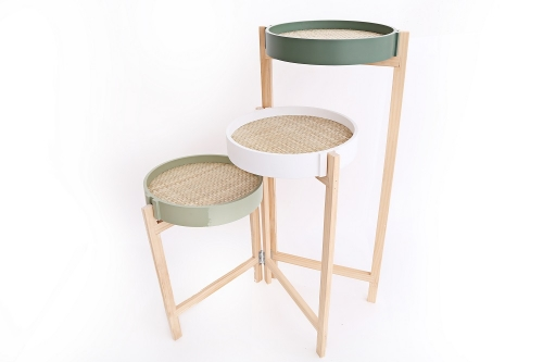 80cm 3 Tiered Side Table Home use and Decoration