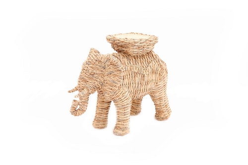 26x21cm Elephant Candle Holder Home Decoration