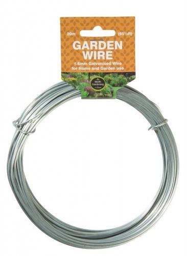 1.6mm Galvanised Garden Wire 20M Long