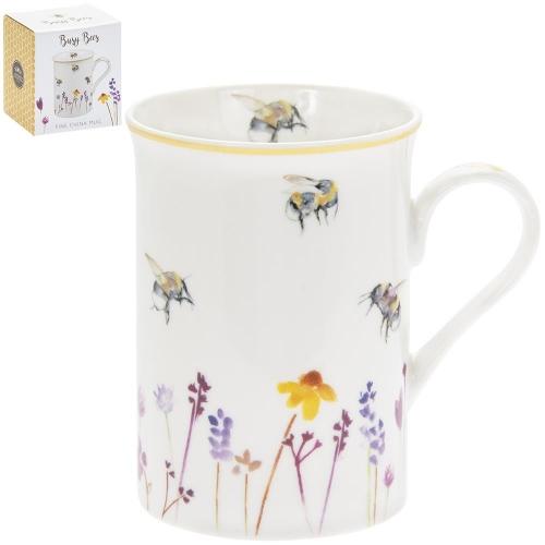 Busy Bees Fine China mug Single