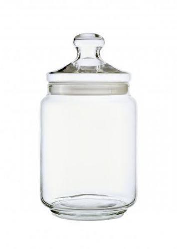 2.0L Potclub Seal Pack Lid Cookie Storage Clear Glassware Jar