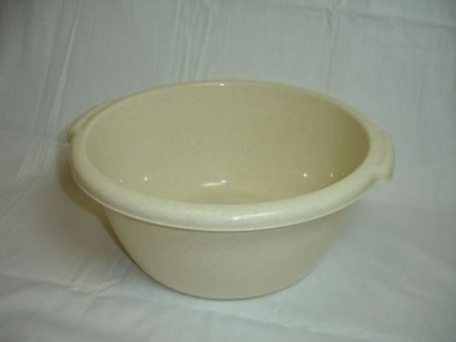 Med 32cm Plastic Deep Round Mixing Bowl Oatmeal Home Commercial Kitchen Catering