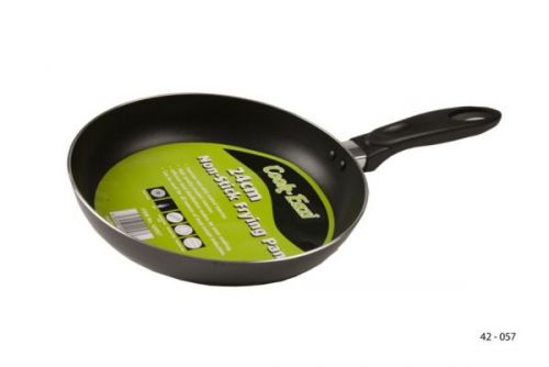 24cm Non-Stick Frying Pan Enamel Cooking Kitchen Frypan
