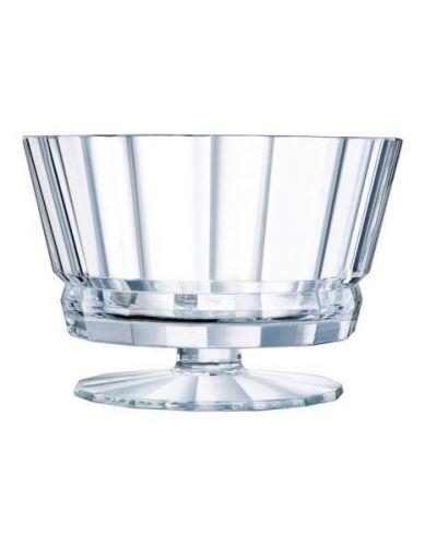 Cristal d'Arques Paris Macassar Footed 22.5cm Salad Bowl
