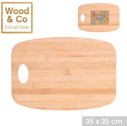 Bambo Cutting Chopping Board 35x25cm