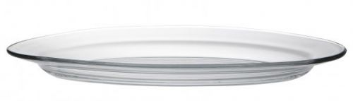 Duralex Lys Clear Oval Plate 36Cm Pack Of 6 Great For Any Ocassion