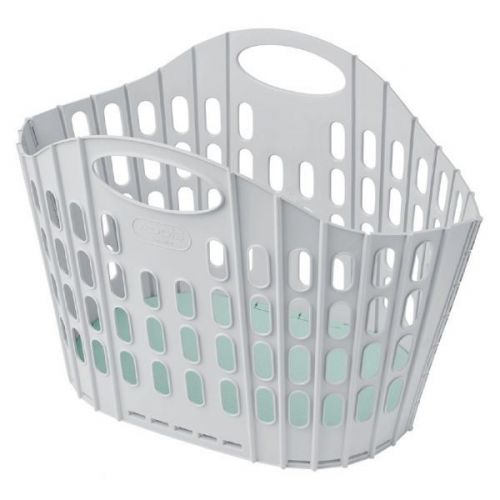 Addis Fold flat laundry basket Plastic  38 litre   light weight single pack