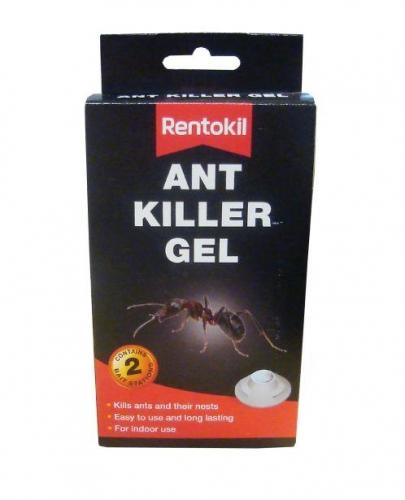 Pack Of 2 Rentokil Home Indoor Ant Killer Gel