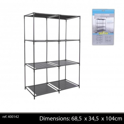 6 Cube Storage Self For Cubes 68.5X34.5Xh104