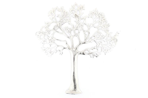 Aluminium Tree of Life Wall Plaque Wall Hanging Art 60cm
