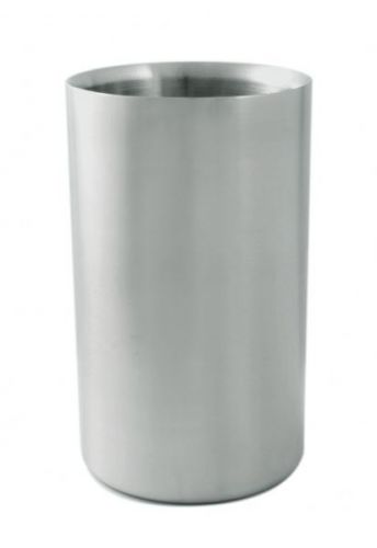 Double Walled Stainless Steel Open Wine Cooler 20X12Cm