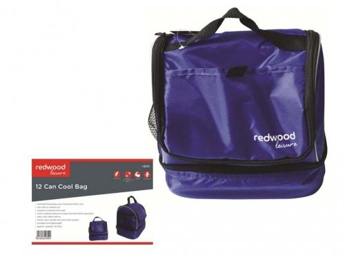 10 Ltr 12 Can Cool Bag Picnic Bag Purple