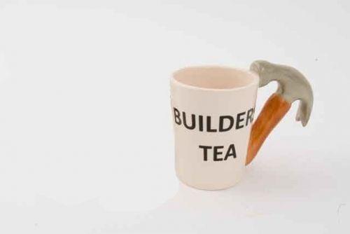 DIY Hammer Mug Builders Tea Gift Mug