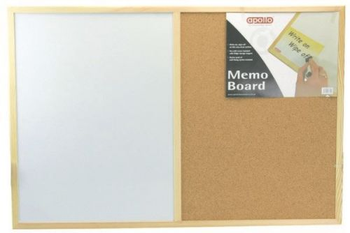 Kitchen Home 60x40 Vinyl Cork Memo Board
