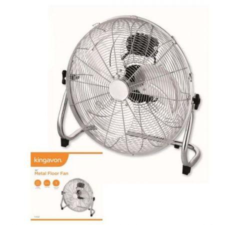 18Inch Metal Floor Fan 3 Speed Settings