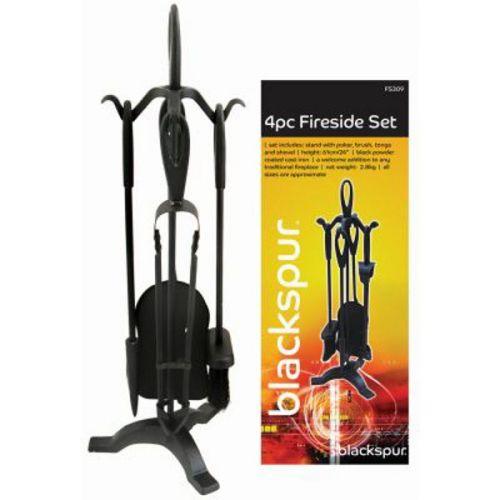 4pc Fireside Set Blackspur