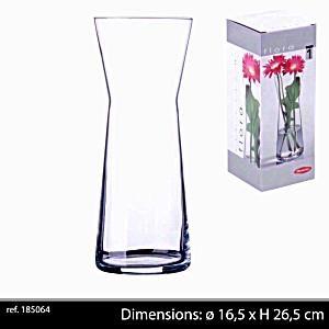 Botanica Clear Glass Flower Plant Vase Terrarium Container Home Garden Decor New