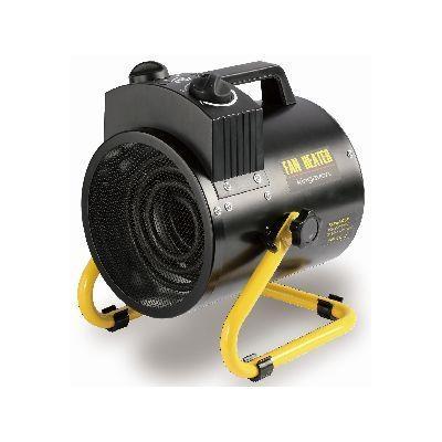 3KW Tilting Workshop Cylinder Heater Black