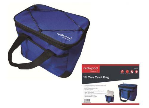 12.9 Ltr 18 Can Cool Bag Picnic Bag Purple