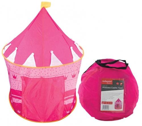 POP UP Princess Castle Play Tent Pink Kids