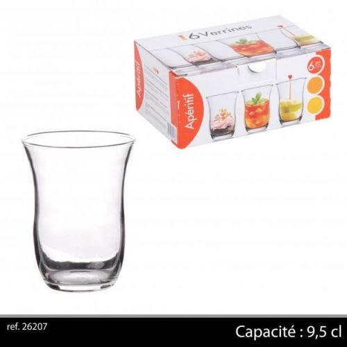 6PC GLASS 9,5CL