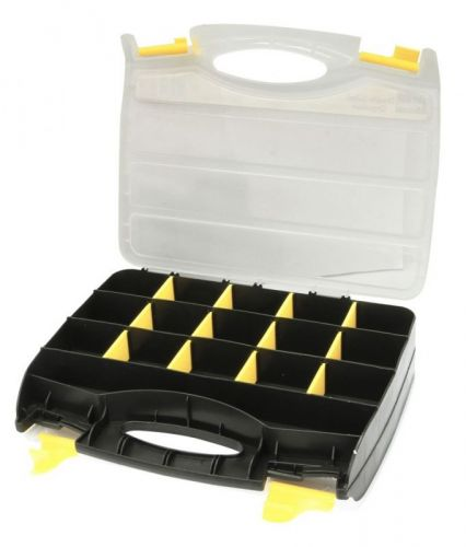 Rolson Double Sided 32 Compartment Small Parts, Tools Storage Organiser