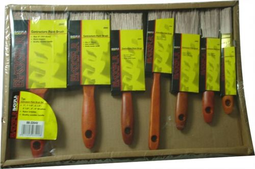 7pc Contractors Paint Brush Set