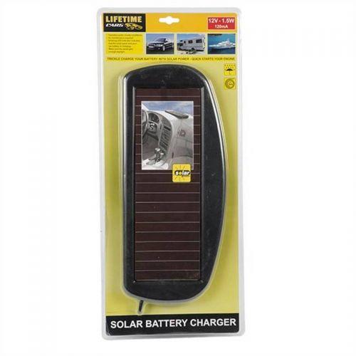 12V Solar Battery Charger