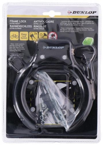 Bicycle lock frame lock ring lock bicycle 2 keys 15x13x2cm