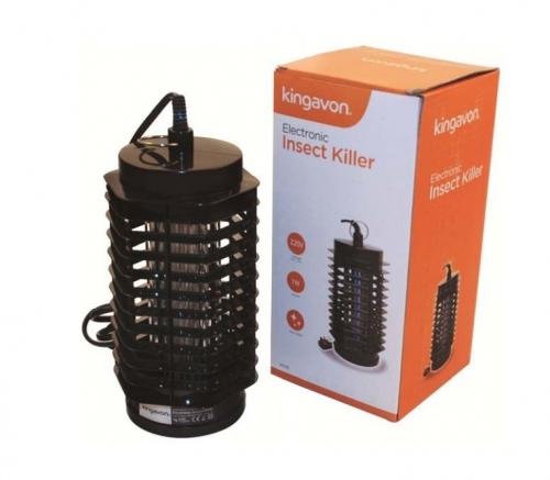 1W Lantern Shape Black Electronic Ultra Violet Insect Killer
