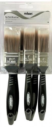 5Pc Paint Brush Set Rolson