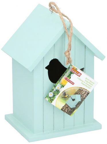 Bird House Wood Make Natural colour stylish 14.5x12x22