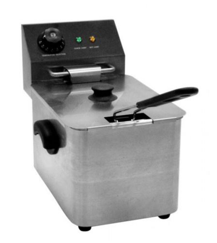 4 Litre Zyco Professional Single Fryer Adjustable Thermostatic Controls