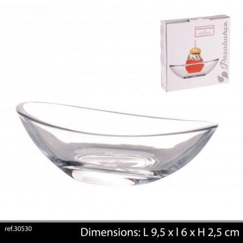 Passabache 6Pc Tapas Gastro Glass Dishes