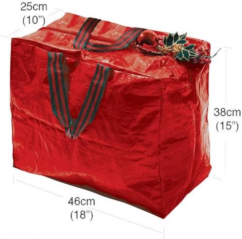Christmas Decorations Storage Bag Polyethylene